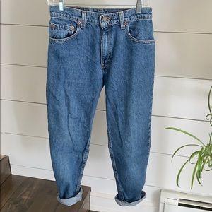 """Levi's 550 USA Vintage Jeans Fit like 4 27"""" waist"""
